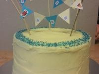 Vanilla Ombre Cake