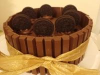 Chocolate Cake with KitKats & Oreos