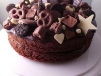Chocolate Cake with Mini Chocolates