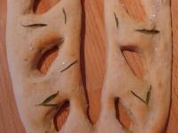 Rosemary & Salt Fougasse