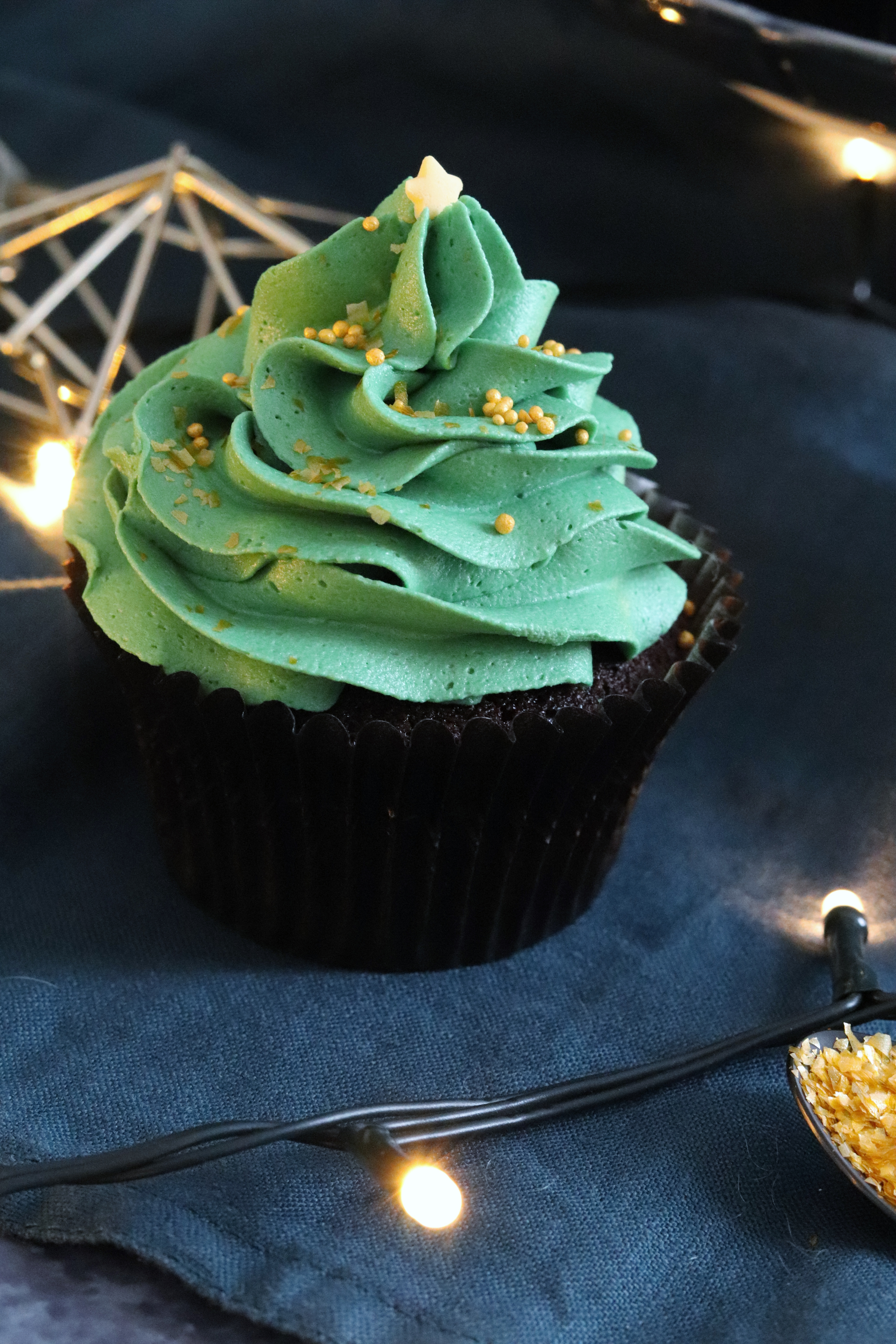 Mary Berrys Christmas Chocolate Cupcakes Curlys Cooking