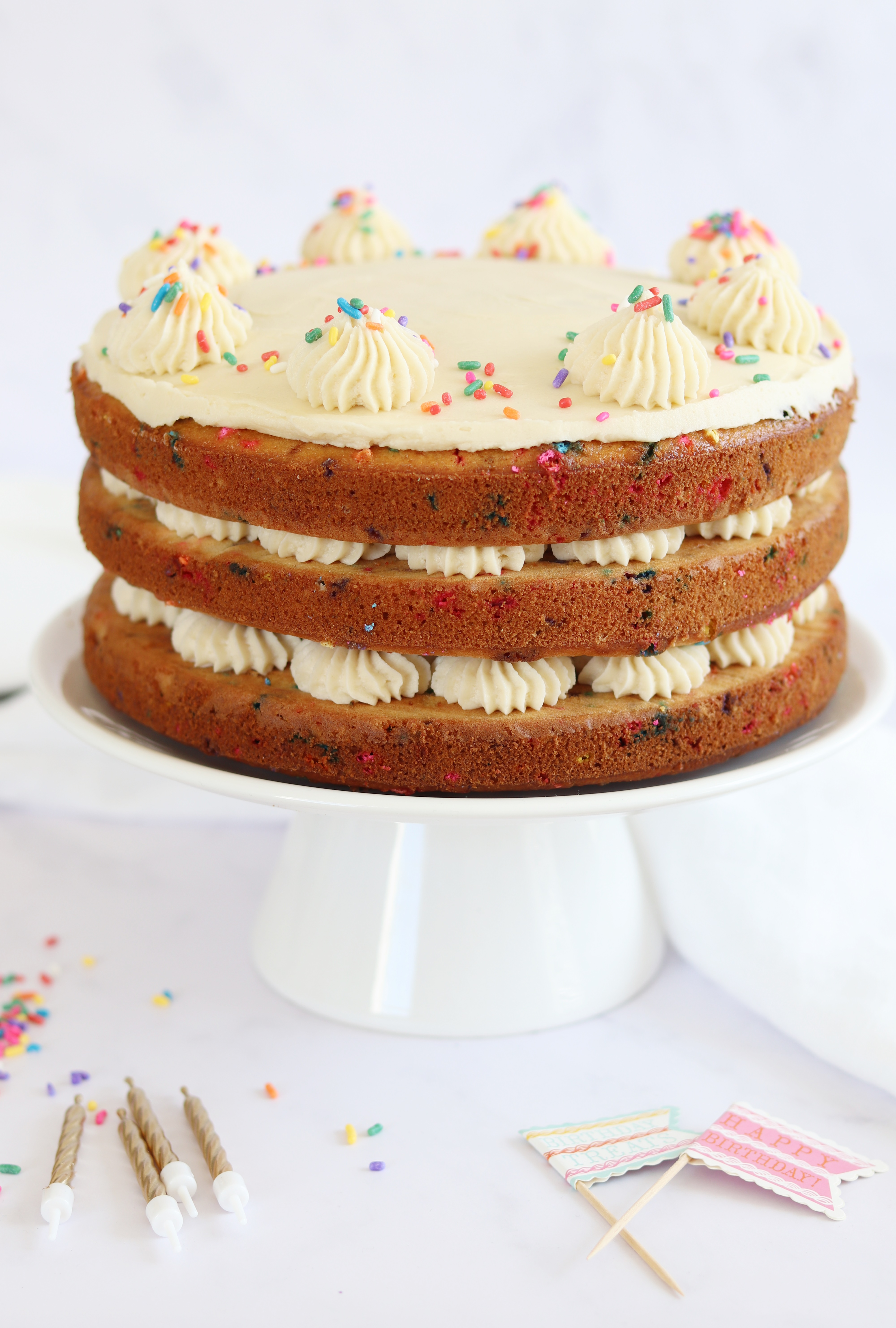 funfetti cake by Curlys Cooking on BritMums
