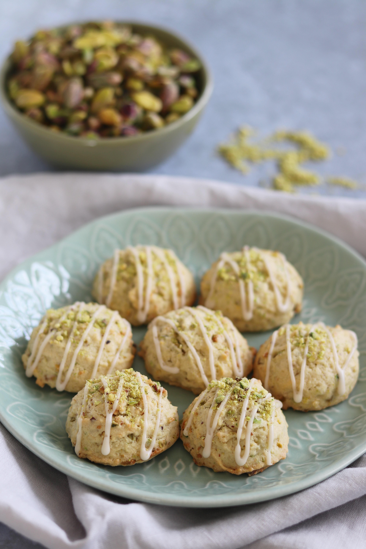 Pistachio & Vanilla Cookies