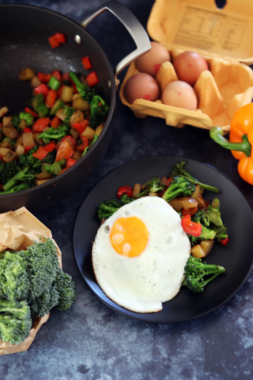 Broccoli & Potato Hash