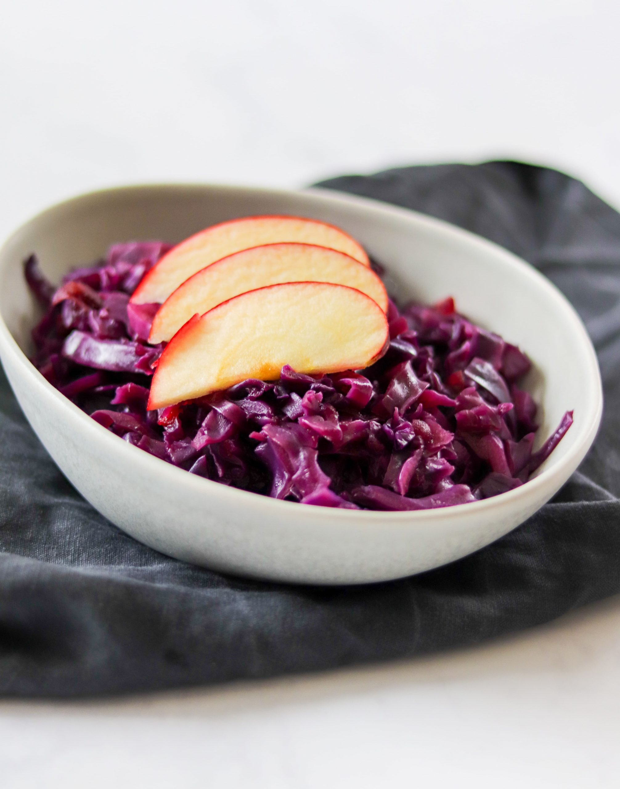 Pressure Cooker Red Cabbage With Apple Curly S Cooking
